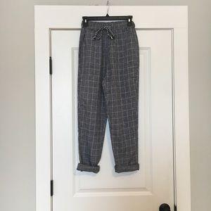 Pants - Plaid pants